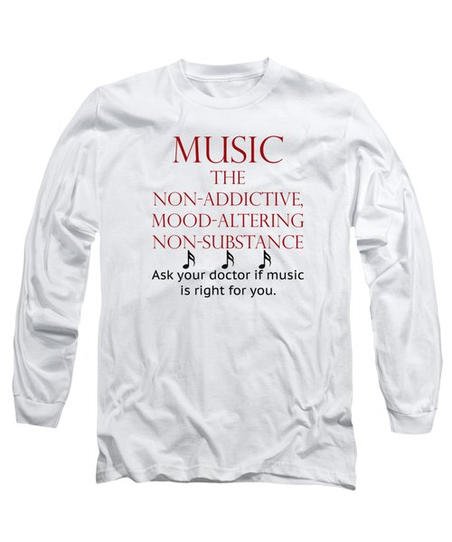 Music Mood Altering Long Sleeve T-Shirt
