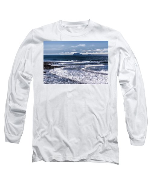Long Sleeve T-Shirt featuring the photograph  Point Loma And Islos Los Coronados by Daniel Hebard