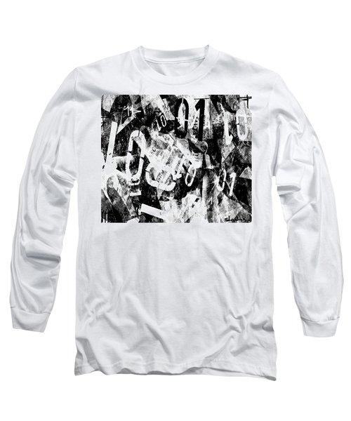 Long Sleeve T-Shirt featuring the digital art 01 by Sladjana Lazarevic