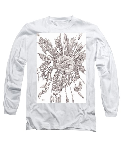 Breaking Free.    0111-1 Long Sleeve T-Shirt by Charles Cater