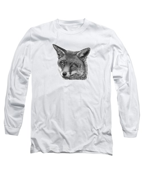 044 Vixie The Fox Long Sleeve T-Shirt by Abbey Noelle