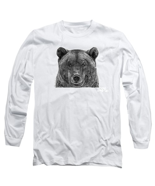 045 Papa Bear Long Sleeve T-Shirt by Abbey Noelle