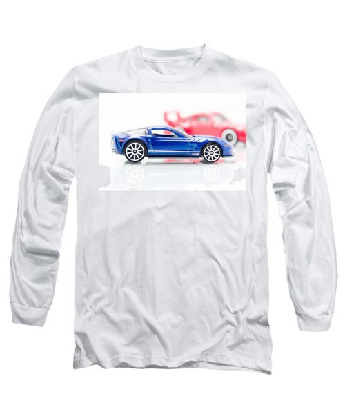 Long Sleeve T-Shirt featuring the photograph 09 Zr1 by Wade Brooks