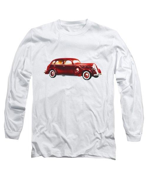 1937 Graham Supercharger Long Sleeve T-Shirt by John Haldane