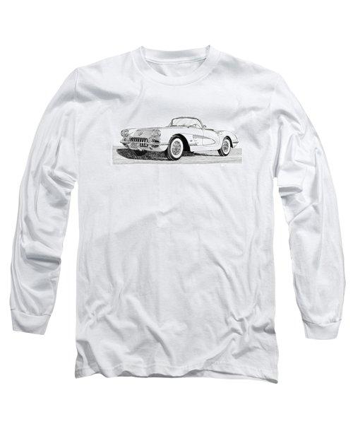 1960 Corvette Long Sleeve T-Shirt