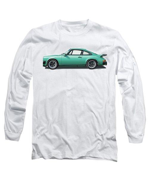 1976 Porsche Euro Carrera 2.7 Illustration Long Sleeve T-Shirt