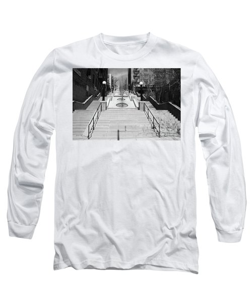 215th Street Stairs Long Sleeve T-Shirt