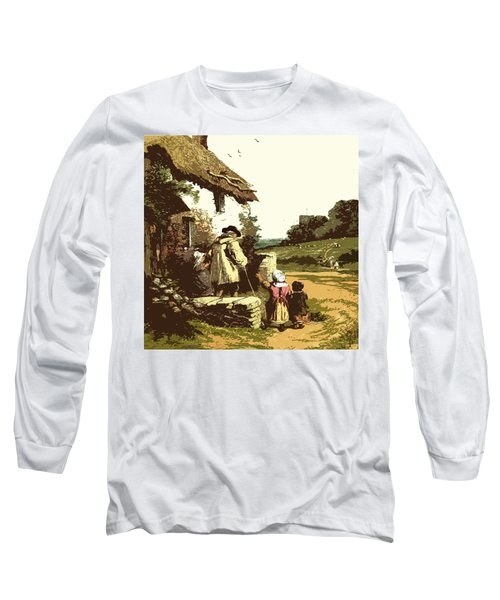 A Walk With The Grand Kids Long Sleeve T-Shirt
