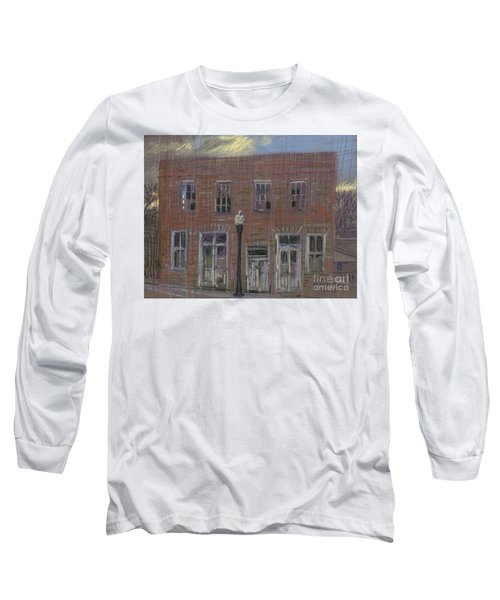 Long Sleeve T-Shirt featuring the painting Abandoned by Donald Maier