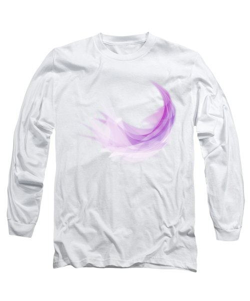 Abstract Feather Long Sleeve T-Shirt by Setsiri Silapasuwanchai