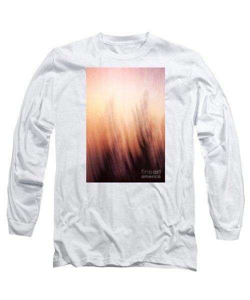 Abstract Grunge Background Long Sleeve T-Shirt