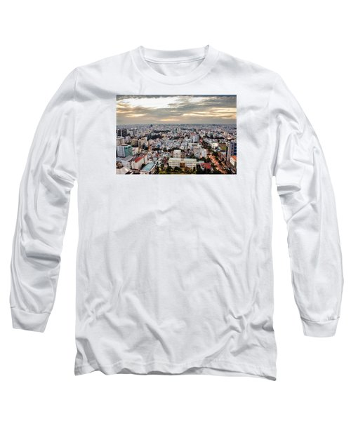 Afternoon On The City Long Sleeve T-Shirt