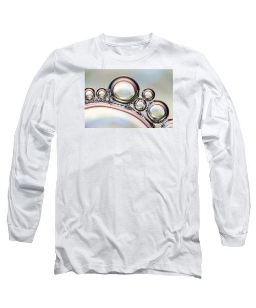 Air Bubbles Long Sleeve T-Shirt by Odon Czintos