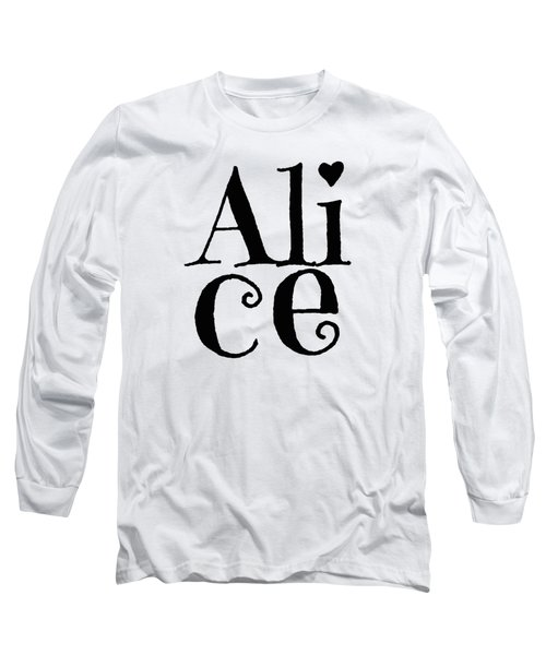 Alice Long Sleeve T-Shirt by Alice Gipson