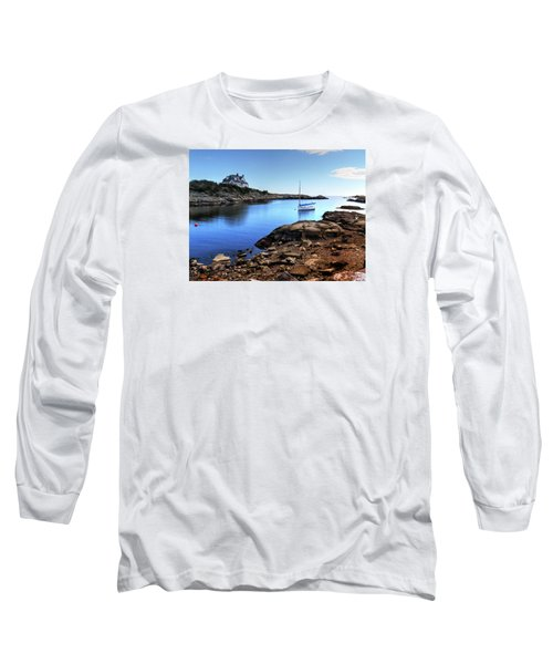Long Sleeve T-Shirt featuring the photograph Almost Paradise Newport Ri by Tom Prendergast