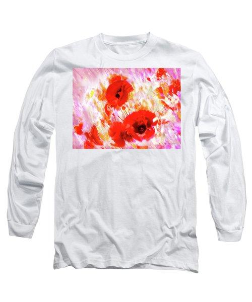 Amapolas Long Sleeve T-Shirt