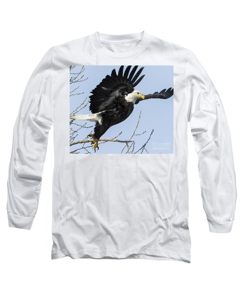American Bald Eagle Long Sleeve T-Shirt
