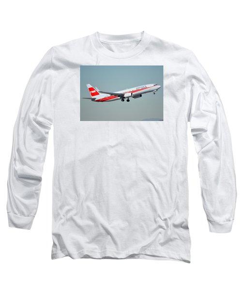 American Boeing 737-823 N915nn Phoenix Sky Harbor January 11 2015 Long Sleeve T-Shirt by Brian Lockett