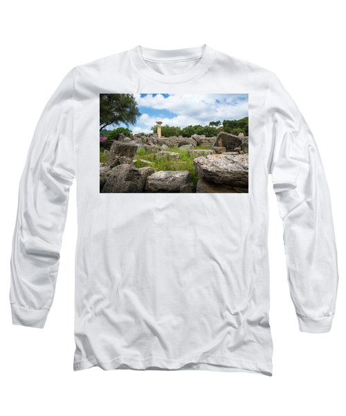 Ancient Olympia / Greece Long Sleeve T-Shirt by Stavros Argyropoulos