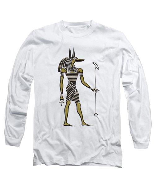 Anubis - God Of Ancient Egypt Long Sleeve T-Shirt