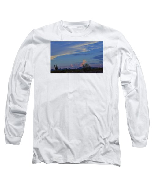Arizona Desert Long Sleeve T-Shirt by Helen Haw