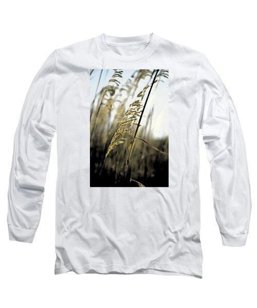 Artistic Grass - Pla377 Long Sleeve T-Shirt by G L Sarti
