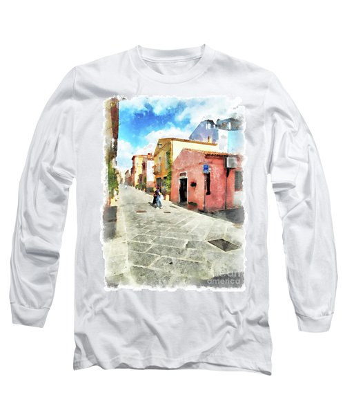 Arzachena Garibaldi Street Long Sleeve T-Shirt
