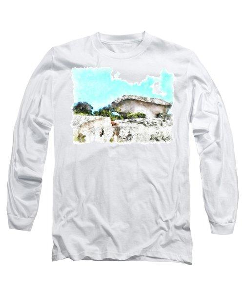 Arzachena Mushroom Rock Long Sleeve T-Shirt