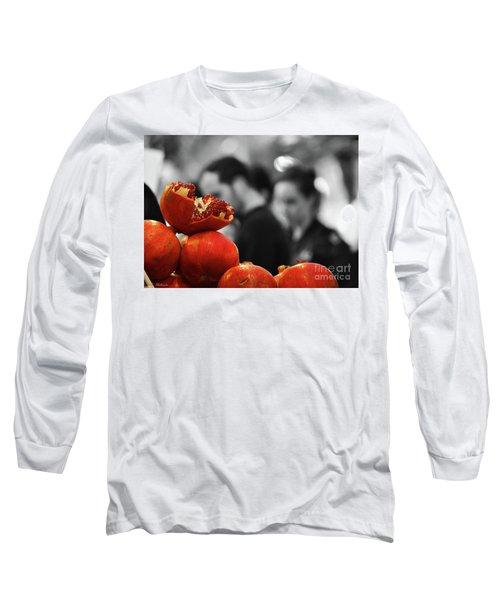 At The Market Long Sleeve T-Shirt
