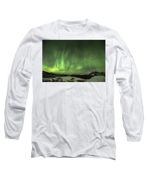 Aurora Borealis Or Northern Lights. Long Sleeve T-Shirt