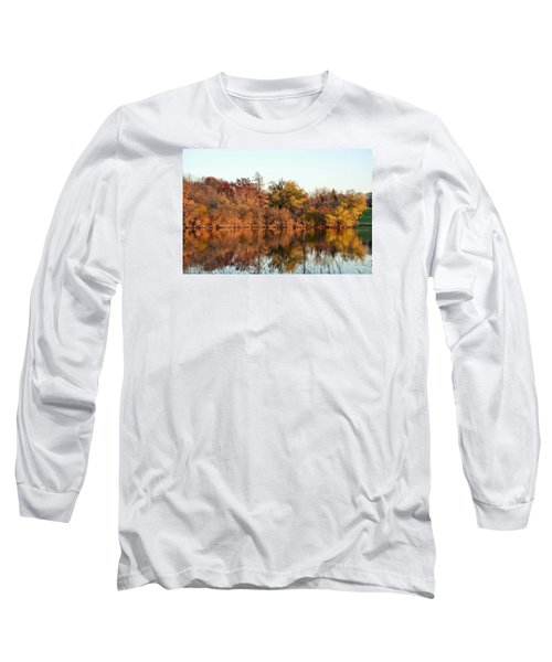 Autumn Reflections Long Sleeve T-Shirt by Nikki McInnes