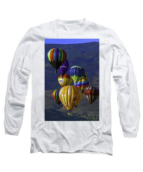 Balloons Over Reno Long Sleeve T-Shirt