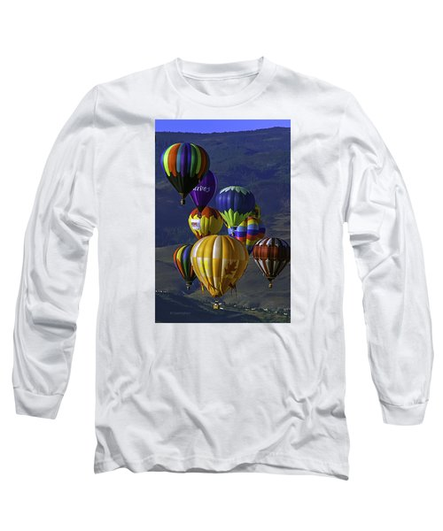 Balloons Over Reno Long Sleeve T-Shirt