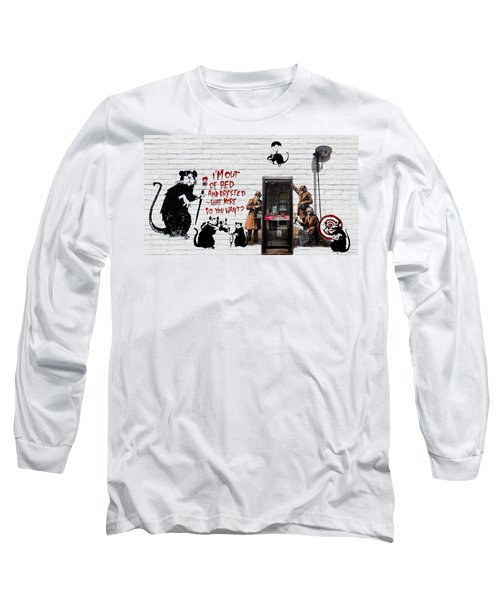 Banksy - The Tribute - Rats Long Sleeve T-Shirt