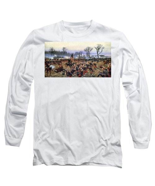 Battle Of Fredericksburg - To License For Professional Use Visit Granger.com Long Sleeve T-Shirt