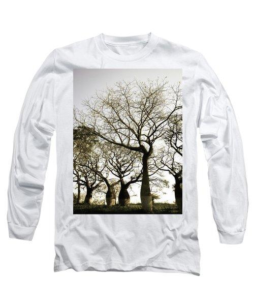 Beautiful Silk Floss Trees Long Sleeve T-Shirt
