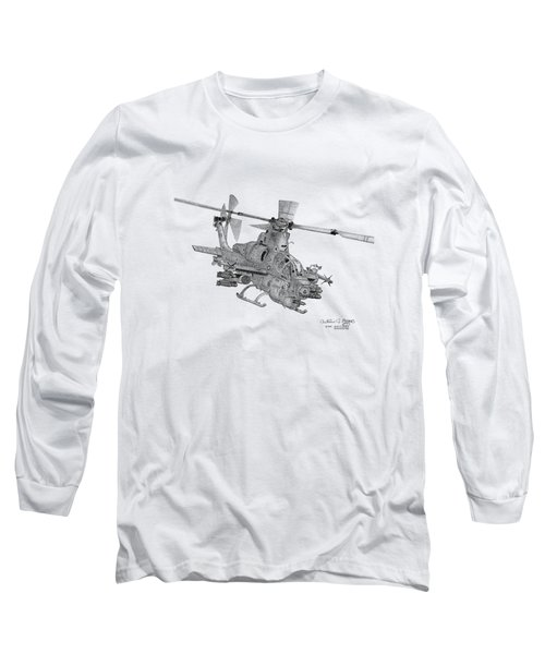 Bell Ah-1z Viper Long Sleeve T-Shirt by Arthur Eggers