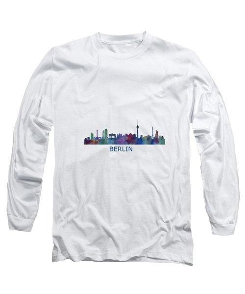Berlin City Skyline Hq 1 Long Sleeve T-Shirt