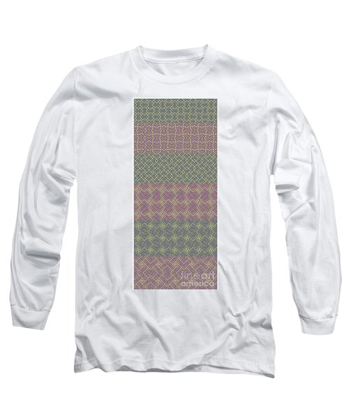 Bibi Khanum Ds Patterns No.9 Long Sleeve T-Shirt