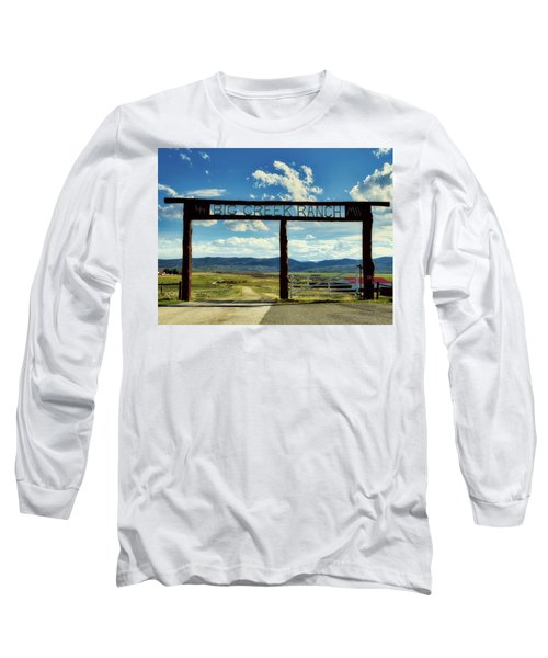 Big Creek Ranch Long Sleeve T-Shirt by L O C