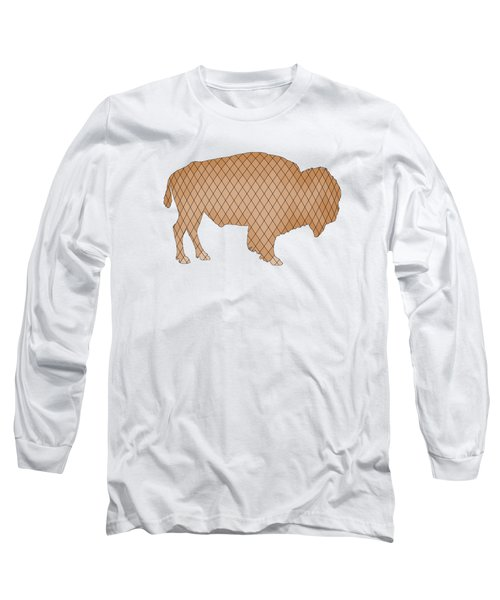 Bison Long Sleeve T-Shirt by Mordax Furittus