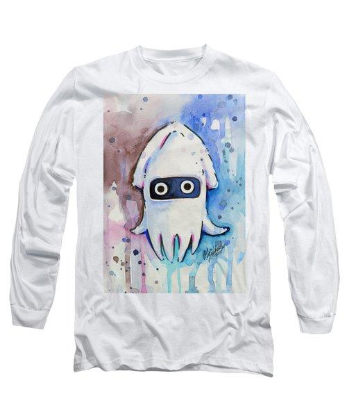 Blooper Watercolor Long Sleeve T-Shirt