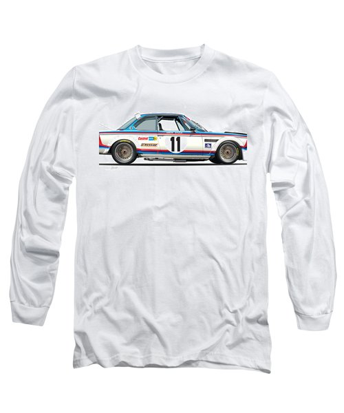 Bmw 3.0 Csl Chris Amon, Hans Stuck Long Sleeve T-Shirt