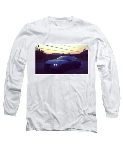 #bmw #m4 #sunset #desert #driveclub Long Sleeve T-Shirt
