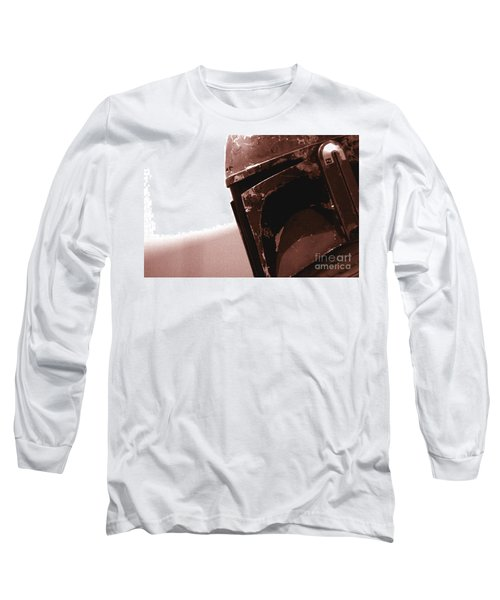 Long Sleeve T-Shirt featuring the photograph Boba Fett Helmet 32 by Micah May