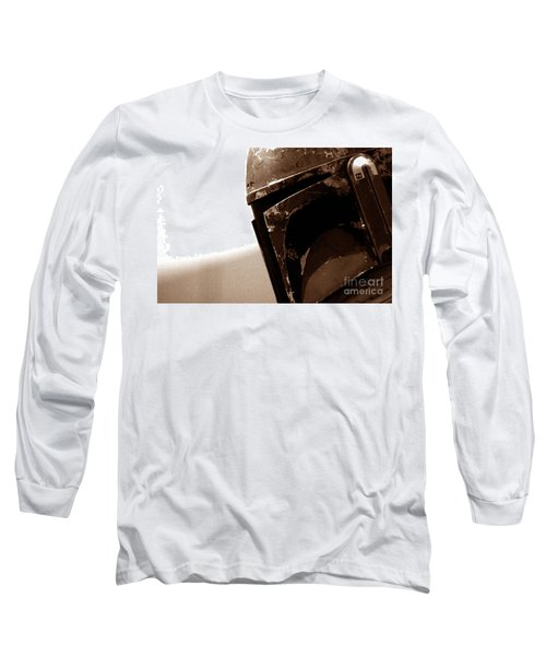 Long Sleeve T-Shirt featuring the photograph Boba Fett Helmet 33 by Micah May