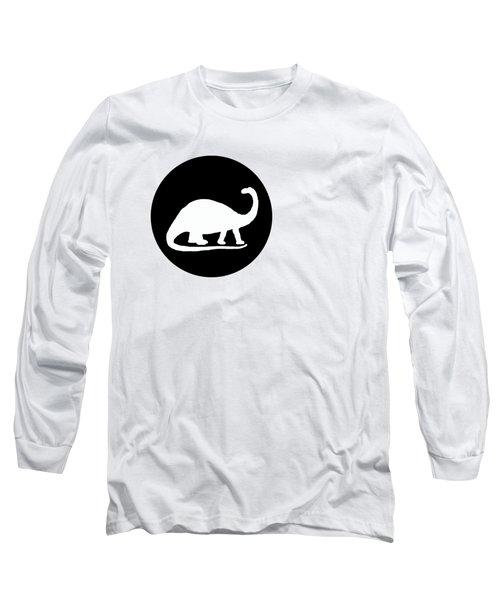 Brontosaurus Long Sleeve T-Shirt by Mordax Furittus