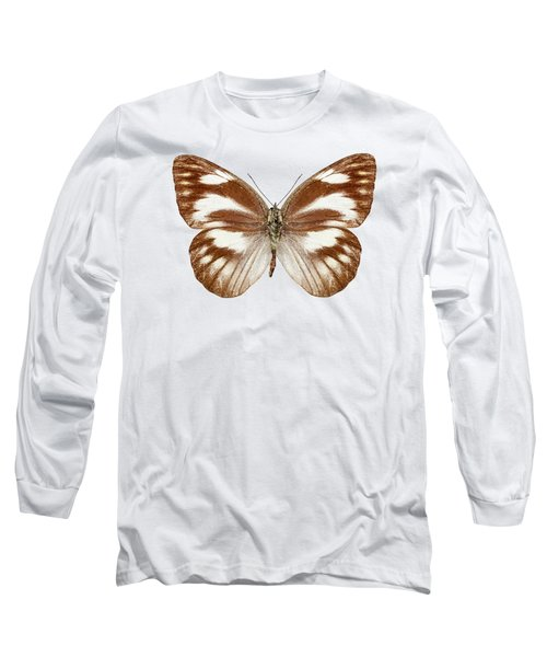 Butterfly Species Appias Libythea  Long Sleeve T-Shirt