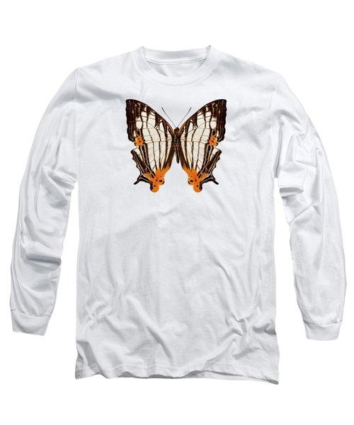 Butterfly Species Cyrestis Lutea Martini Long Sleeve T-Shirt