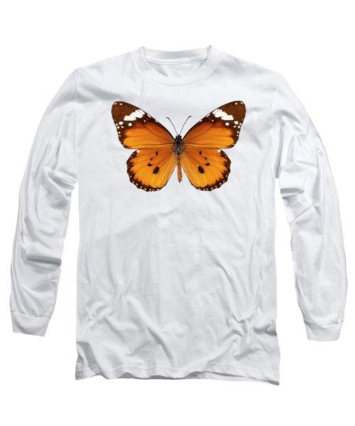 Butterfly Species Danaus Chrysippus  Long Sleeve T-Shirt